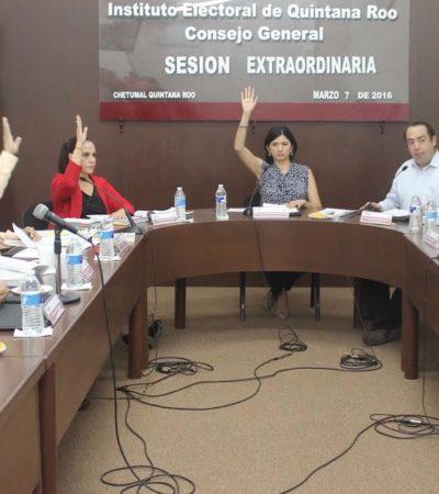 Aprueba Ieqroo registro de 6 planillas de aspirantes a candidatos independientes para municipios; rechazan 4