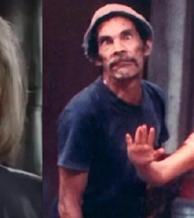 """""""A COMO DIGO UNA COSA, DIGO OTRA"""": A lo 'Chimoltrufia', Florinda Meza pide disculpas por hablar de presuntas adicciones de 'Don Ramón'"""