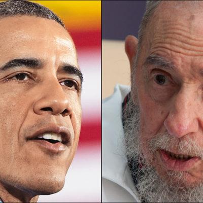 """""""NO NECESITAMOS QUE EL IMPERIO NOS REGALE NADA"""": Responde Fidel Castro a visita de Obama a Cuba y recuerda agravios del pasado"""