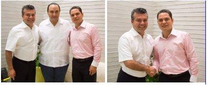 El Gobernador Roberto Borge con Mauricio Góngora y Juan Carlos Pereyra.