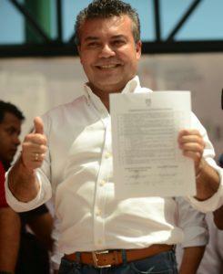 Mauricio Góngora, ex Alcalde de Solidaridad.