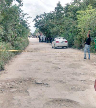 HALLAN A MUJER ASESINADA EN CANCÚN: El cadáver fue encontrado en un área verde en la colonia 'El Pedregal, en la R-529; descartan abuso sexual