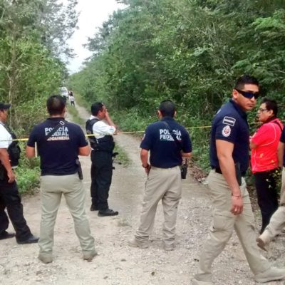 HALLAN A EMBOLSADO EN LA SANTA CECILIA: Reportan tercer asesinato al hilo en la periferia de Cancún; suman 4 crímenes en la semana