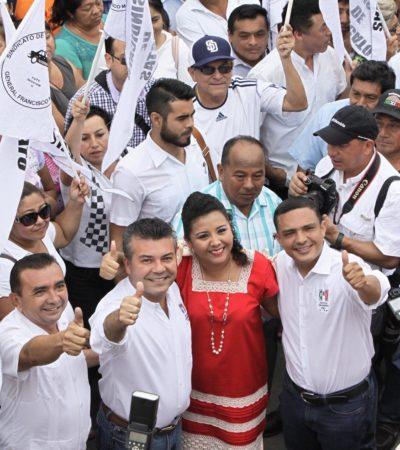 Rompeolas: Claman pago salarios en el PRI