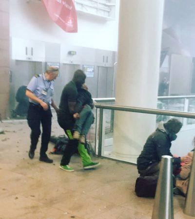 ATENTADOS EN EL CORAZÓN DE EUROPA: Decenas de muertos por explosiones en una estación del metro y en el aeropuerto de Bruselas