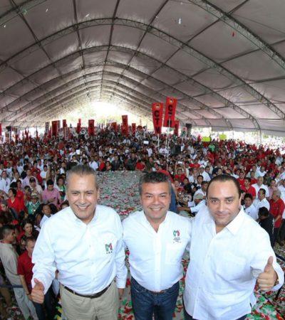 COMIENZA MAURICIO CON DERROCHE: En su primer día como candidato del PRI, gasta 5% de tope de campaña en renta de un domo sin contar lo demás