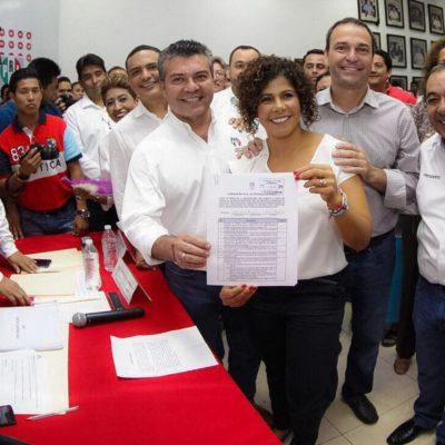 REGISTRA PRI A PRECANDIDATOS A DIPUTADOS: Alberto Vado, Candy Ayuso, Leslie Hendricks y José Luis González buscan curul