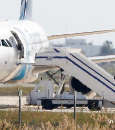 SECUESTRAN AVIÓN EGIPCIO: Rescatan a pasajeros y arrestan a extremista en Chipre