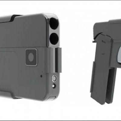 ARMAS POR TODAS PARTES: Venderán una pistola camuflada de 'smartphone'