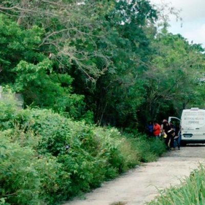 APARECE OTRO EJECUTADO EN CANCÚN: Con un balazo, hallan a un hombre tirado en un basurero clandestino de la colonia irregular 'El Pedregal'