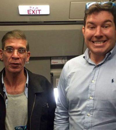 """""""EL SECUESTRADOR Y YO"""": Causa revuelo 'selfie' de un británico con hombre que secuestró un avión egipcio"""