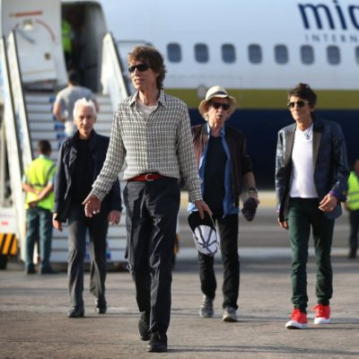 YA ESTÁN LOS 'STONE' EN CUBA: Los rockeros tocarán por primera vez en la isla, donde sólo la revolución castrista es más vieja que ellos