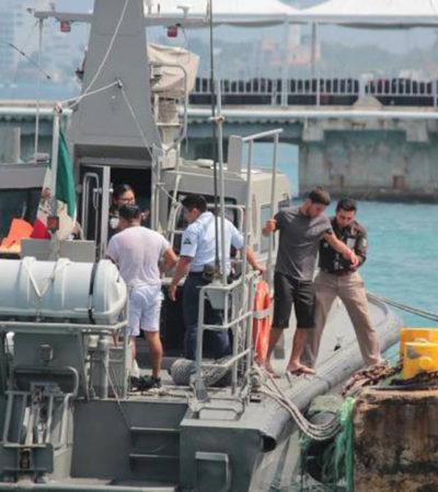 TRAGEDIA DE BALSEROS EN ALTAMAR: Rescata crucero a 18 cubanos, pero 9 no sobrevivieron a 22 días a la deriva; desembarcan en Cozumel