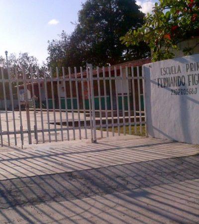Intervienen autoridades en caso de una violación en primaria de Chetumal