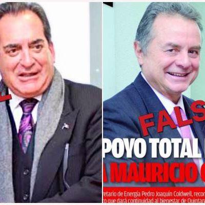 USA MAURICIO LAS MISMAS TÁCTICAS 'SUCIAS' DE BORGE: Publican pasquín con fotomontaje de Pedro Joaquín para simular apoyo a precandidato