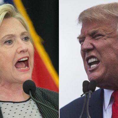 AVANZAN HILLARY Y TRUMP EN EL SUPERMARTES: La ex secretaria de Estado gana primarias en al menos 7 estados, igual que el polémico millonario