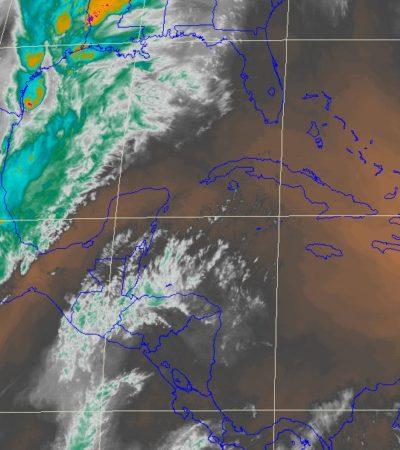 Pronostican fuertes lluvias y hasta caída de granizo para la península de Yucatán