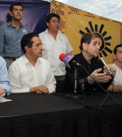 """""""QUE SE ACABE LA SATRAPÍA"""""""": Dirigentes del PAN y PRD se dicen decididos a impulsar la transición democrática en Quintana Roo"""
