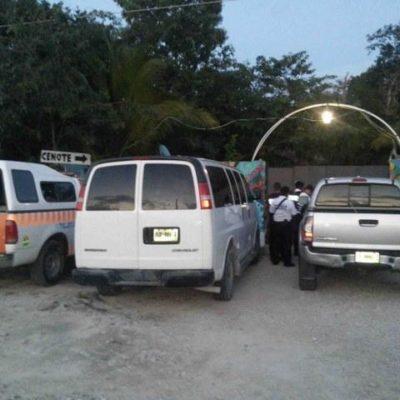 Se pierde turista español en el cenote 'La Calavera' de Tulum