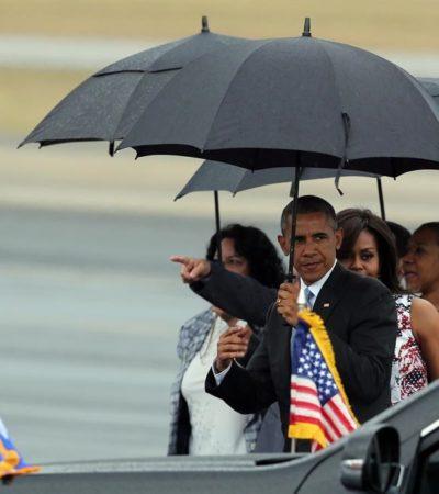 OBAMA YA ESTÁ EN CUBA: Inicia la histórica visita del Presidente de EU a La Habana para dejar atrás más de 5 décadas de animadversión