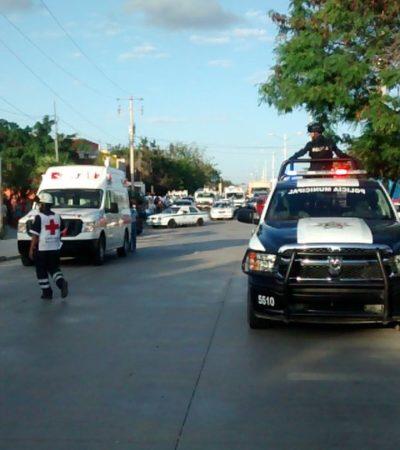 SACUDE LA VIOLENCIA A CANCÚN: Un ejecutado y dos heridos tras ataque a balazos en la Avenida Leona Vicario en la Región 211; sicarios huyen