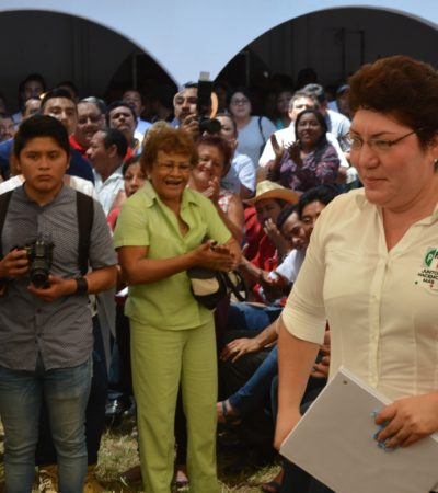Se inscribe Remedios Pantoja, ex colaboradora de Abuxapqui, a la diputación por el Distrito XV de Chetumal