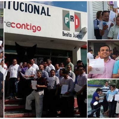 DESBANDADA DE PRIISTAS EN QR: Cientos de militantes en Cancún, Playa, Chetumal y Cozumel saltan del barco tricolor para apoyar a Carlos Joaquín