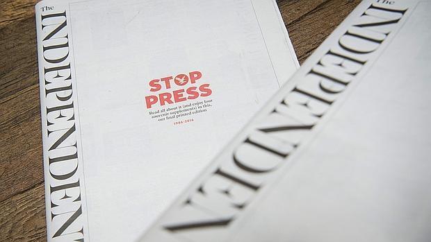 """""""PAREN LAS ROTATIVAS"""": Con una exclusiva, diario británico 'The Independent' publica su última edición en papel"""