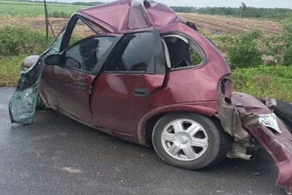 Muere trabajador de la Conafor en aparatoso accidente carretero en el sur de QR