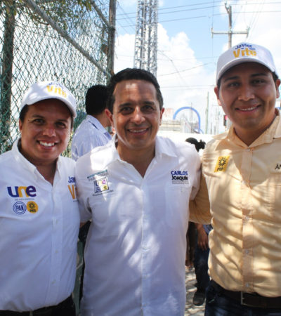 Dice Javier Vite que si lo eligen diputado será vigilante del actuar del Gobernador