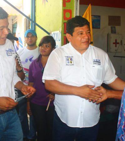 Recorre Luis Torres Llanes mercado Payo Obispo y llama a rescatar a Chetumal del abandono