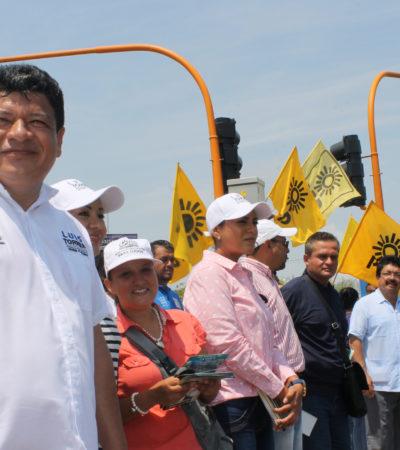 Dice Luis Torres que buscará mayor coordinación del municipio con el estado para garantizar la salud en OPB