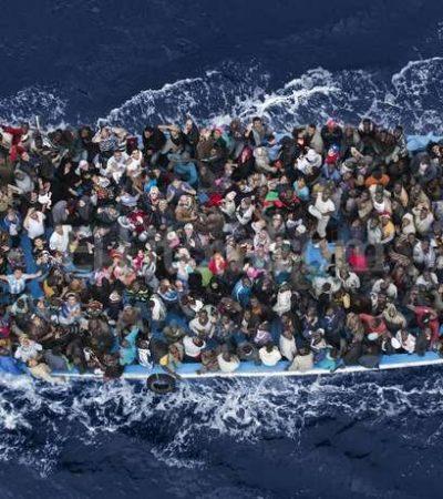 NUEVA TRAGEDIA EN EL MEDITERRÁNEO: Reportan presunto naufragio con cientos de inmigrantes africanos que buscaban llegar a Italia