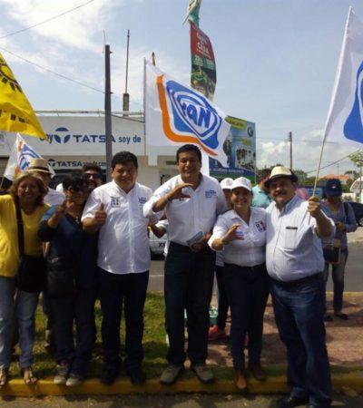 """""""Vamos a transparentar cada peso gastado en salud"""", asegura Fernando Zelaya en el Distrito XIV"""