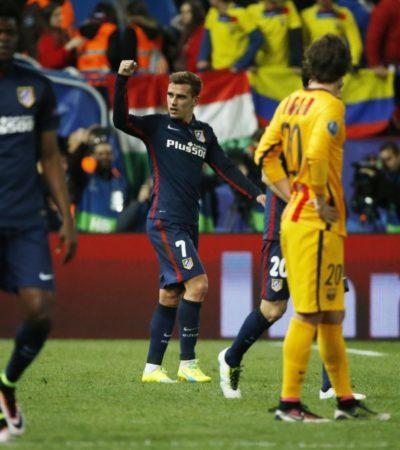 ECHAN AL BARCELONA DE LA CHAMPIONS: Atlético de Madrid se impone al campeón y avanza a semifinales