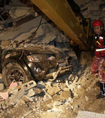 TERREMOTO EN ECUADOR: Suman al menos 233 muertos por sismo de 7.8 grados Richter; decretan estado de excepción