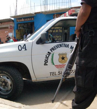 ASÍ SE LAS GASTAN EN OAXACA: Por infraccionar a regidor, mujeres policías son desnudadas y tocadas en sus partes íntimas