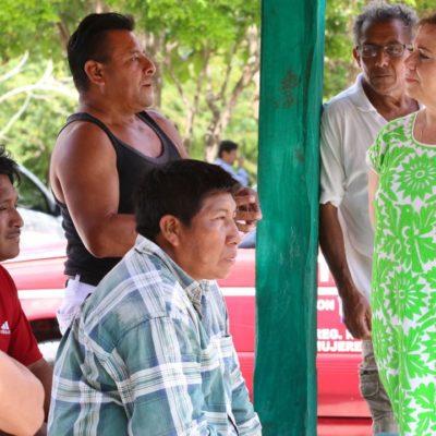 Pobladores de la zona agrícola y Francisco May confían en que la  atención a sus necesidades solo la tendrán con Alicia Ricalde y Carlos Joaquín