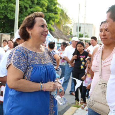 """Llama Alicia Ricalde a votar este 5 de junio sin dejarse  amedrentrar """"porque el verdadero poder lo tiene el pueblo"""""""