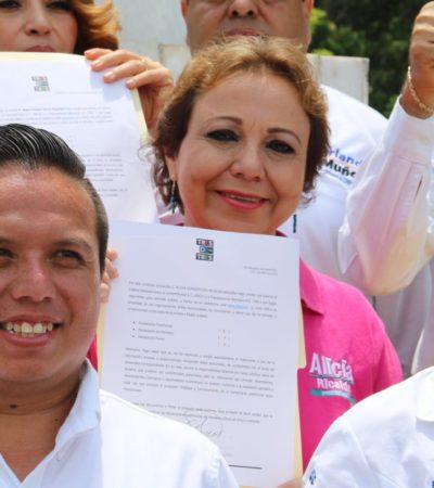 Se compromete Alicia Ricalde con la transparencia y dice que los isleños se están rebelando contra el 'gobierno corrupto'