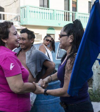 Dice Alicia Ricalde que una de sus prioridades será un hospital de especialidades para Isla Mujeres
