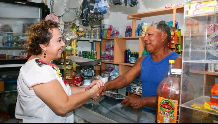 Propone Alicia Ricalde establecer un plan de acciones para atender las principales necesidades de Isla Mujeres