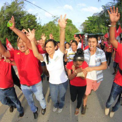 A Puerto Morelos no entrará la delincuencia, asegura Laura Fernández