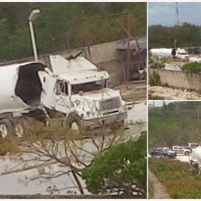 EXPLOTA PIPA EN CENTRO DE ALMACENAMIENTO DE COMBUSTIBLE EN COZUMEL: La unidad estaba vacía y no hubo heridos, confirma Protección Civil