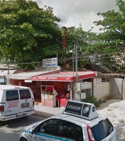 ESPELUZNANTE ASESINATO EN PLAYA DEL CARMEN: Encuentran el cuerpo desmembrado de una mujer en dos maletas a dos cuadras de la Quinta Avenida