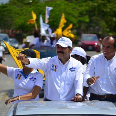 Retomará Julián Ricalde programa 'El Buen Vecino' para limpiar Cancún