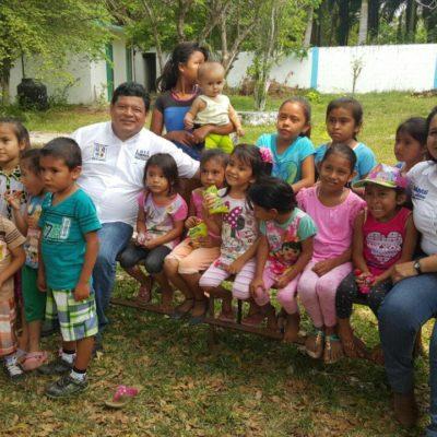 Llama Luis Torres a trabajar en políticas públicas que realmente beneficien a los niños de QR