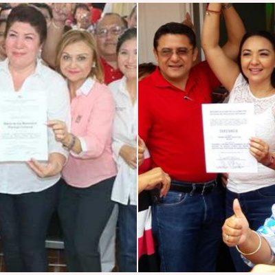 Valida PRI candidaturas de Teresa Flota y Remedios Pantoja a diputaciones de mayoría