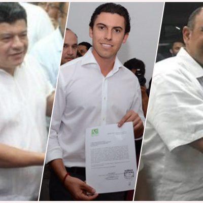 SE INSCRIBEN CANDIDATOS A ALCALDÍAS: Disputarán 67 las 11 presidencias municipales de QR; Julián Ramírez Florescano sustituye a 'Mara' Lezama en Morena