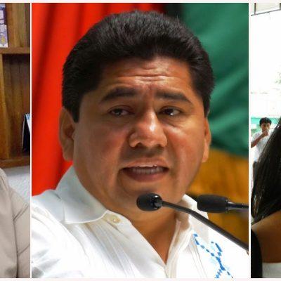 SE IMPONEN LOS PACTOS EN EL PRI: Confirman candidaturas de Filiberto Martínez en Solidaridad y Romalda Dzul en Tulum; ex tesorera va por FCP
